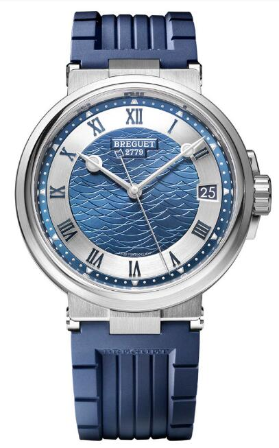 Breguet Marine 5517 Bucherer Blue 5517TI/1Y/5ZU Replica Watch
